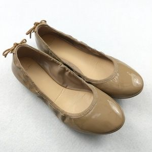 Cole Haan Nude Round Toe Ballet Flats Size 8.5B
